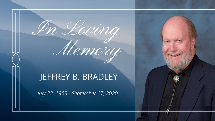WEST Mourns the Loss of Dr. Jeffrey B. Bradley, President