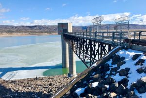 Cochiti Lake and Dam, H&H design